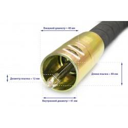 Гибкий вал с вибронаконечником ТСС ВВН 4/50ДУ (дл.4000 мм; диам. 50мм)