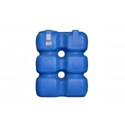 Бак топливный 1000 л пластиковый (с обвязкой)