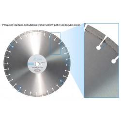 Алмазный диск ТСС-450 железобетон (Premium)