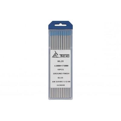 Вольфрамовый электрод синий WL20-175/4,0 (10 шт)