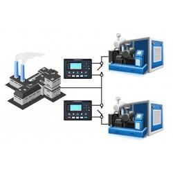 Синхронизация ДГУ 450-500 кВт ComAp