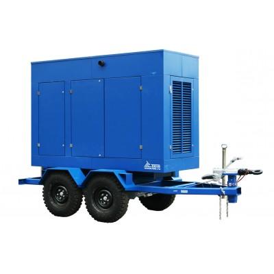 Дизель генератор на шасси c АВР 200 кВт ТСС ЭД-200-Т400-2РКМ5