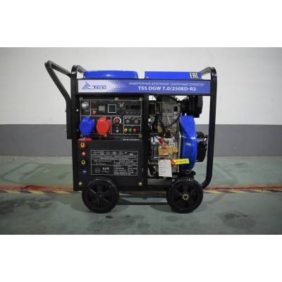 Инверторный дизельный сварочный генератор TSS DGW 7.0/250ED-R3