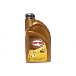 Масло SINTEC Люкс SAE 10W-40 API SL/CF канистра 1л/Motor oil 1l can