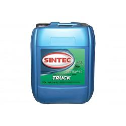 Масло Sintec TRUCK SAE 15W-40 API CI-4/SL канистра 20л/Motor oil 20l can