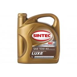 Масло SINTEC Люкс SAE 10W-40 API SL/CF канистра 5л/Motor oil 5l can