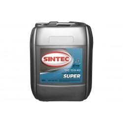 Масло SINTEC Diesel SAE 15W-40 API CF-4/CF/SJ канистра 20л/Motor oil 20liter can
